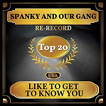 Like to Get to Know You (Billboard Hot 100 - No 17)