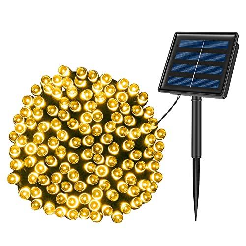 KPafory Solar String Lights,1 Pack 72ft 200LED 8...