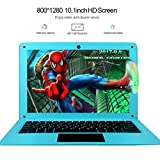 HSW 10.1 inch Windows 10 Ultra Thin Laptop PC - 2GB RAM 32GB Storage, Intel Quad Core 1.44Ghz USB 3.0, WiFi, HDMI, BT, Supports 128GB tf-Card Notebook Computer
