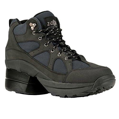 Z-CoiL Women's Outback Hiker Enclosed CoiL Black Boots 8 E US