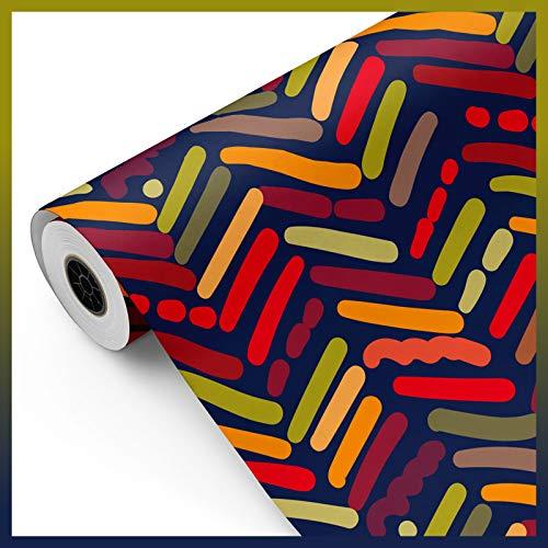 Papel de Regalo Rollo Grande Rojo Marca FP Fiesta Paper