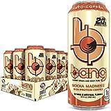 BANG Coffee Keto Coffee Mocha Madness Energy Drink, 192 Fl Oz (Pack Of 12)
