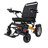 DLY Silla de Ruedas Eléctrica para Discapacitados Mayores, Scooter para Ancianos, Batería de Litio de Cuatro Ruedas, Inconveniente Móvil, Andador Eléctrico