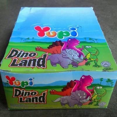 Yupi ユピーグミキャンディディノランド1箱、24-ct