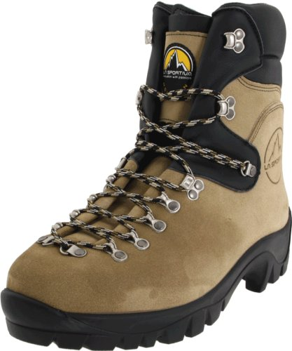 La Sportiva Glacier WLF Wildland Firefighting Mountaineering Boot, Natural, 46