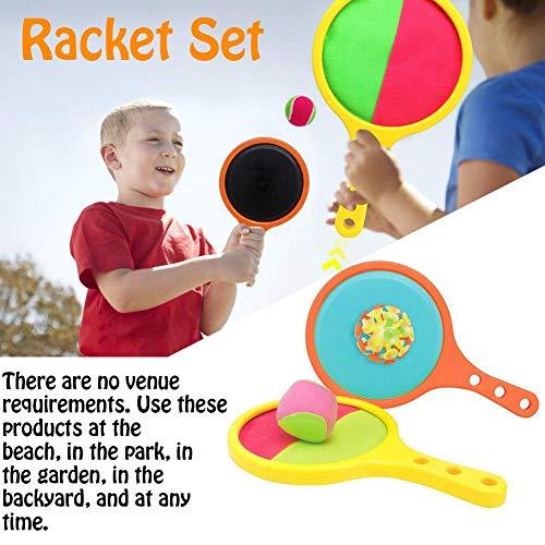 avis jeu tennis professionnel Raquette de plage jeu de sport tennis baseball jeu d'été jouets de plage avec deux balles 2 modes de jeu…