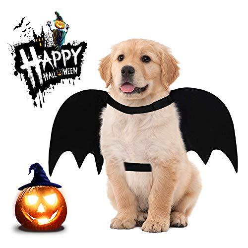 Dog Bat Costume Halloween Pet Costume Halloween Dog Cat Batwings Cosplay Costume