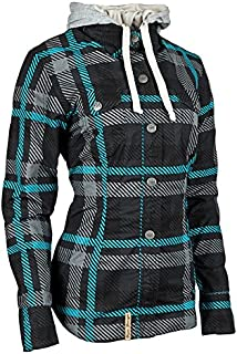 Speed and Strength ROMANCE WOMEN's ARMORED MOTO SHIRT TEAL WSM