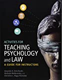 Image of Activities for Teaching Psychology and Law: A Guide for Instructors