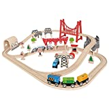 Hape E3712 - Set Pista Treno Double Loop