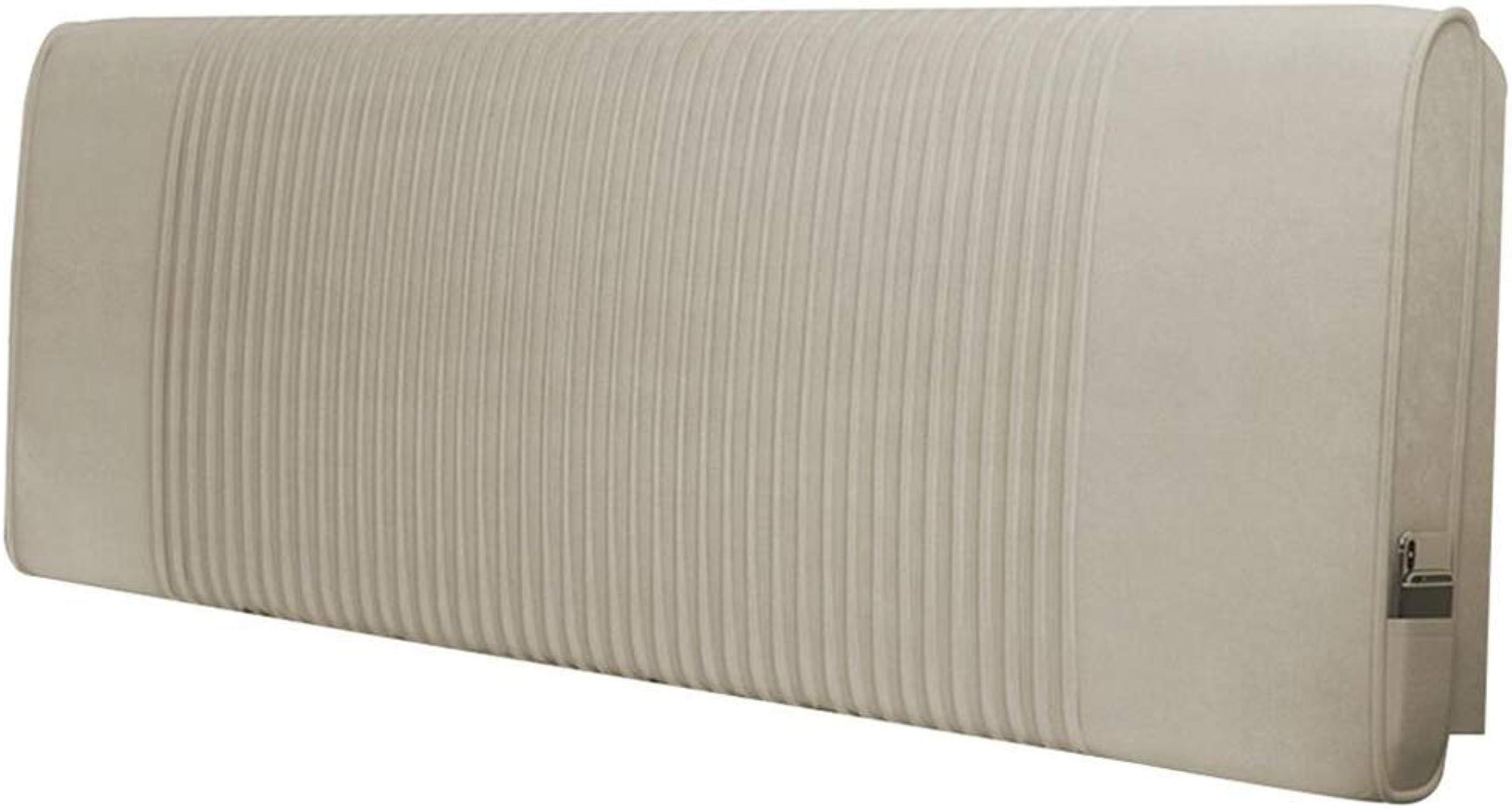 Caisse souple d'oreiller de coussin de dossier de lit de tête de lit démontable et lavable (Couleur    1, Taille   120X60X10CM)