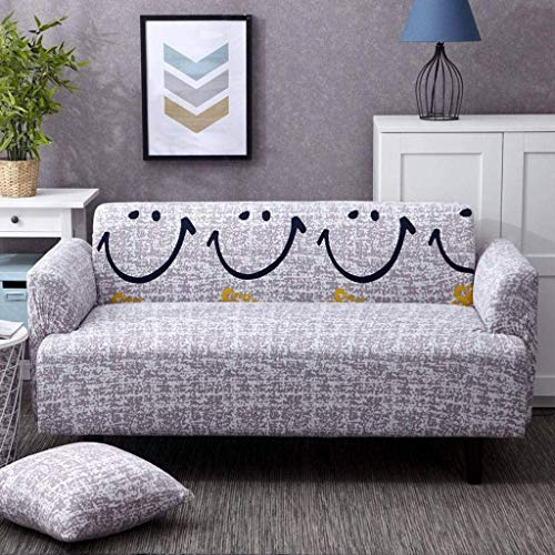 Jonist Funda de sofá Four Seasons Todo Incluido Universal Elastic Force Assemble sofá Antideslizante Shield-45X45Cm Funda de Almohada-C