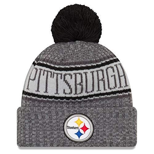 New Era NFL Sideline Graphite Mütze - Pittsburgh Steelers