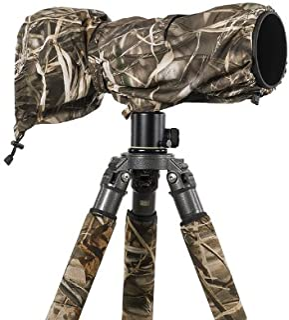LensCoat Raincoat RS für Kamera und Objektiv, große Regenhülle, Tarnschutz (Realtree Max4 HD) LCRSLM4