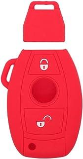 SEGADEN Silicone Cover Protector Case Skin Jacket fit for JAGUAR 5 Button Smart Remote Key Fob CV4983 Deep Purple