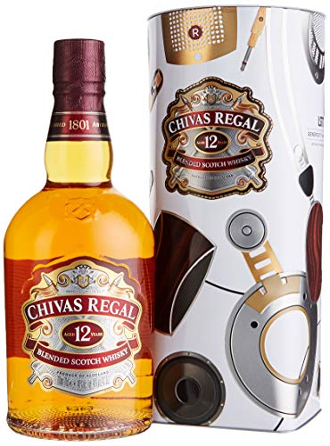 Chivas Brothers Chivas Regal Scotch 12 Years Old Limited Edtition by LSTN SOUND CO. in Tinbox Whisky (1 x 0.7 l)