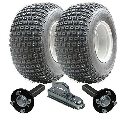 juego de remolque ATV - Quad remolque - Wanda ruedas + Steel