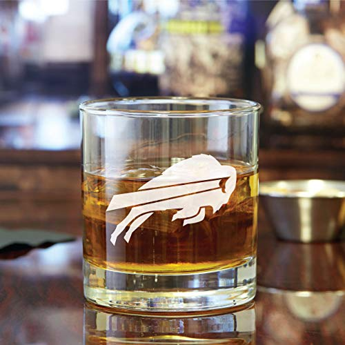 Engraved Buffalo Bills - Rocks Glass - 4PCS
