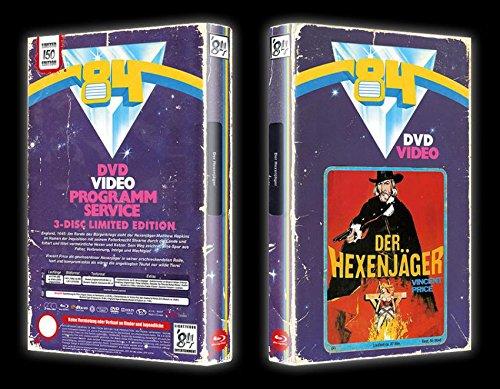 Vincent Price - WITCHFINDER GENERAL - UNCUT Der Hexenjäger BUCHBOX BLU-RAY + 2 DVD BOX EDITION Limitiert auf 150 Stück !!