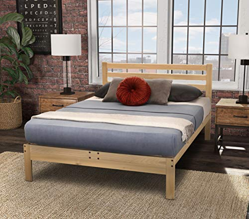 KD Frames 6224-LX-XT Lexington Platform Bed, XL-Twin, Natural