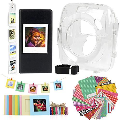 Jinshen Kit de accesorios de cámara premium para FujiFilm Instax Square SQ20...