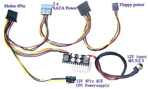 Dc 12v ATX Power Supply Car Htpc Atom Mini-Box Mini-itx 180w Pc PSU
