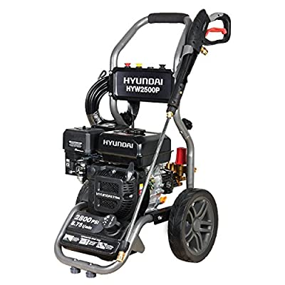 Hyundai 2800 PSI Portable Petrol Pressure Washer HYW2500P by Hyundai
