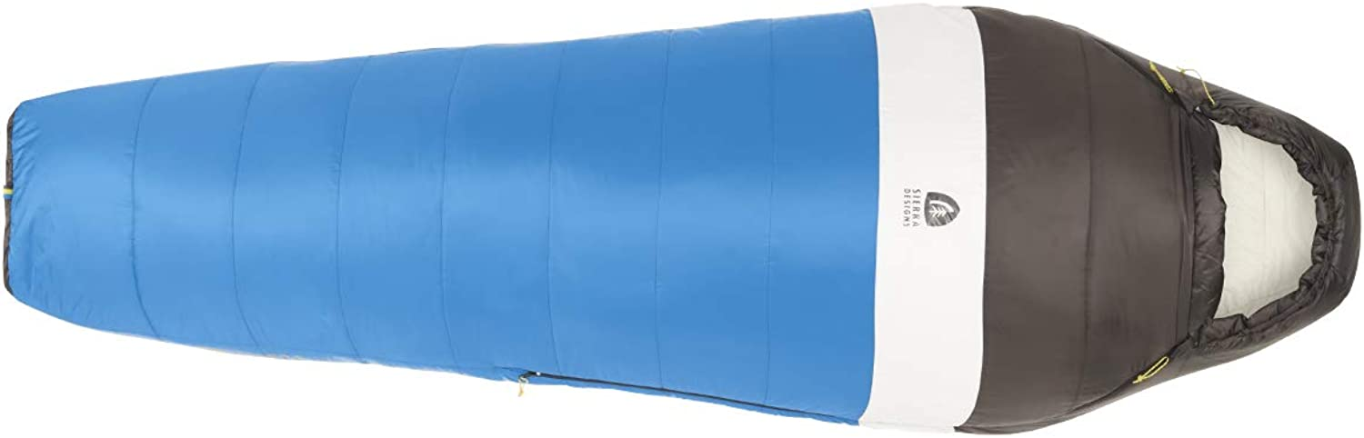 Sierra Designs Synthesis 20 35 50 Degree Sleeping Bags  Synthetic, Mummy Style Camping & Backpacking Sleeping Bags