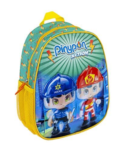 Pinypon Action - Mochila para guardería Infantil, para niños a Partir de 2 años (Famosa 700015966)