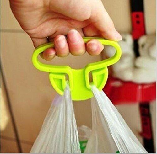 Drhob 3PCS Convenient bag hanging high lift device dish dish is mention carry bags Kitchen Gadgets(Multicolor random)