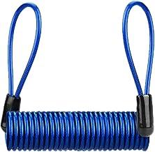 Stalen kabel/helm vergrendeling schijf remslot herinnering touw/elektrische auto motorfiets draad touw anti-diefstal touw-...