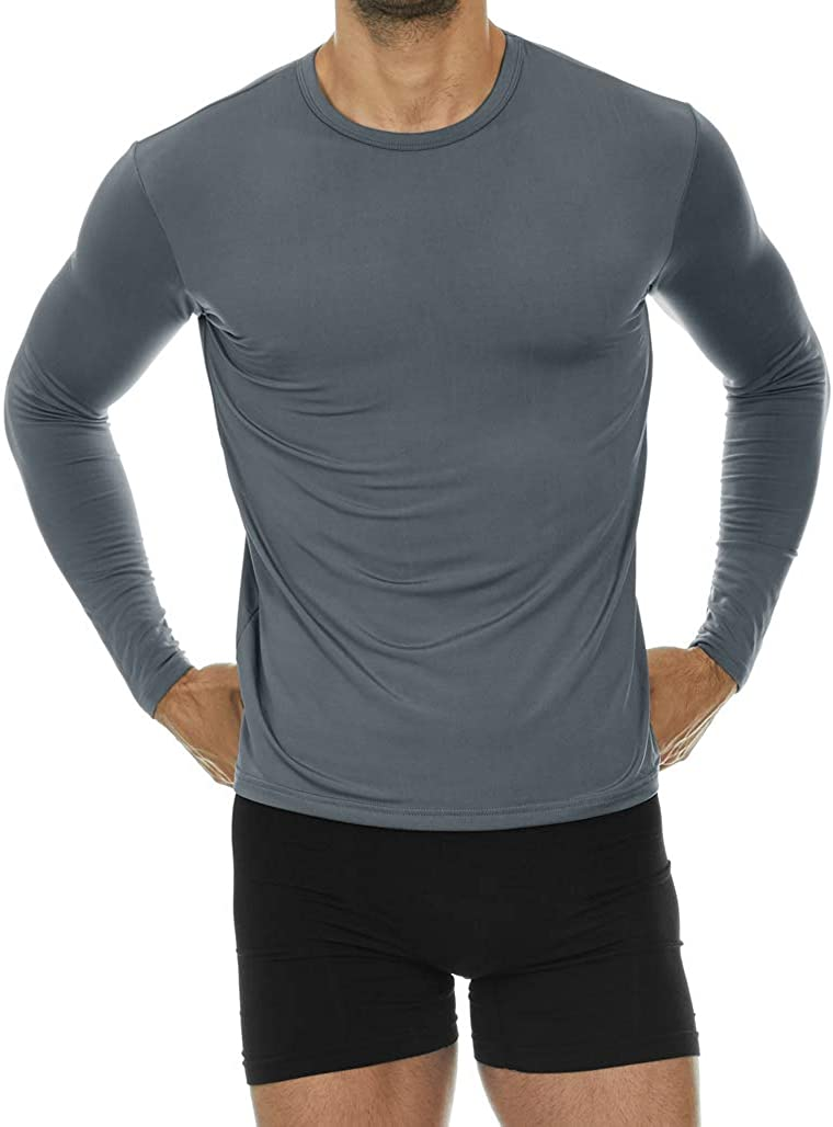 Thermajohn Mens Ultra Soft Thermal Soldering Limited Special Price Baselayer Compression - Shirt