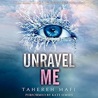 Unravel Me audiobook cover art