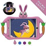 Geageaus iPad Mini 5 4 3 2 1 Case for Kids, Soft Silicone
