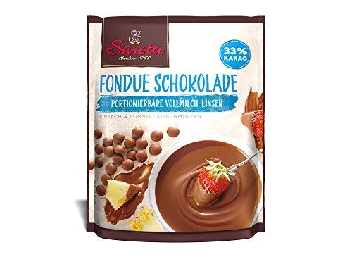Sarotti Back & Fondue Schokolade Vollmilch(Kakao: 33 % mindestens), 9er Pack (9 x 200 g)