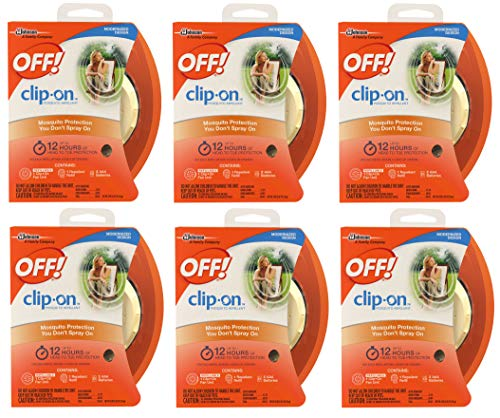 OFF! Clip On Mosquito Repellent Fan Unit 1 ea ( Pack of 6 )