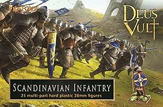 FIREFORGE Deus Vult Post-Viking Scandinavian Infantry 28mm Plastic Figures