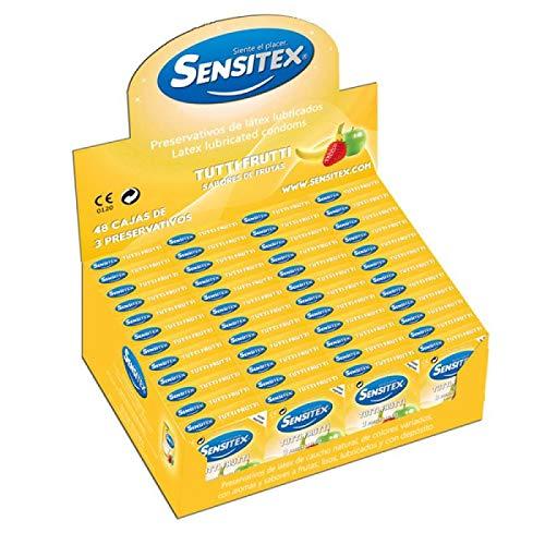 Sensitex Sexo Seguro y Anticonceptivos 1 Unidad 21 g