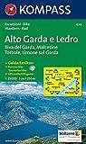 Carta escursionistica n. 690. Lago di Garda. Alto Garda e Ledro, Riva del Garda, Malcesine 1:25000. Adatto a GPS. Digital map. DVD-ROM: Wandelkaart 1:25 000