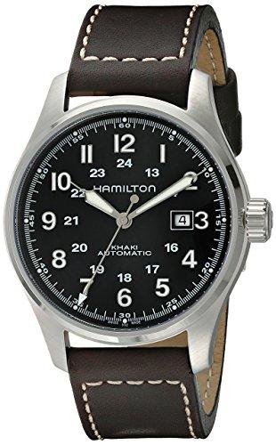 Hamilton Reloj Analogico para Hombre de Automático con Correa en Cuero H70625533
