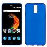 iGlobalmarket ZTE Blade A610 Plus, Funda Silicona, Suave, Ultrafina, Ajuste, Color Azul