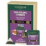 VAHDAM, Orgánica Té Negro Darjeeling del Himalaya (100 Bolsitas de Té)   Té Alto en...
