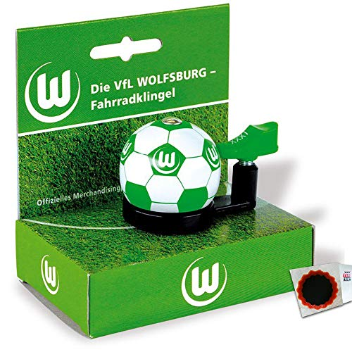 FANBIKE Fan Bike Glocke VFL Wolfsburg Fahrrad + Flicken