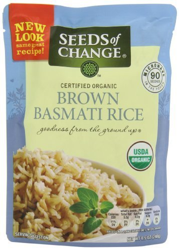 Seeds Of Change Organic Brown Basmati Rice 51 Ounce Pack of 6