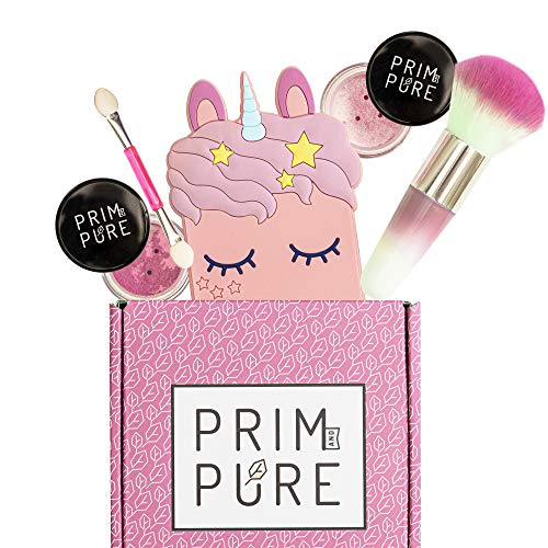 Prim and Pure Mineral Gift Set with Unicorn Mirror| Perfect...