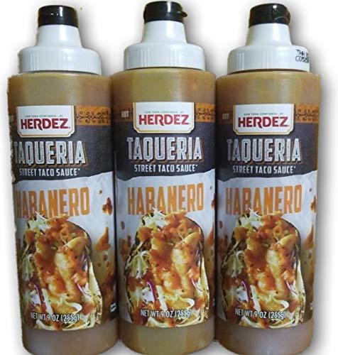 Herdez Habanero Taqueria Sauce 9 oz (Pack of 3)