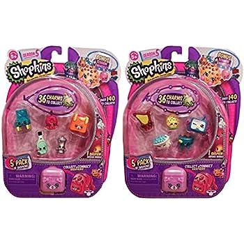 Shopkins Season 5 - 5 Pack (2 Packs)   Shopkin.Toys - Image 1