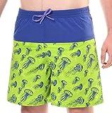 Pantalones Cortos de Pescado Incontinencia Jalea de los Hombres
