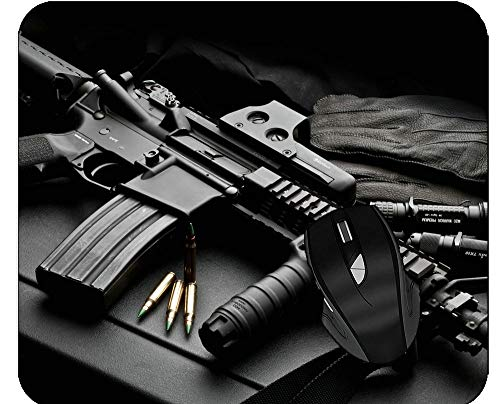 Mouse Pads Weapon Colt Ar-15 at Home Or Work
