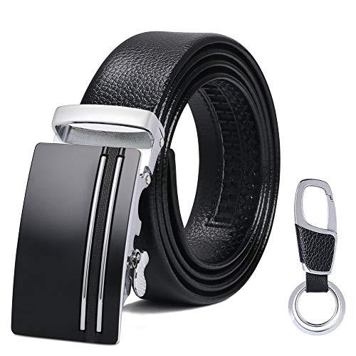 flintronic Cinturón Cuero Hombre, Cinturones Piel con